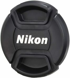 52mm Snap On Front Lens Cap Cover with String Holder for Nikon Camera DSLR LC52