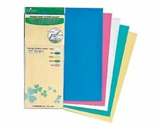 CLOVER Charcopy  5 Sheet Packet Tracing,Marking Paper to Fabric 5 Chalk Shades