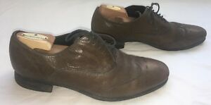 Geox Respira Mens Shoes 10 US Leather Oxfords 43 EU