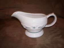 Longaberger Gravy Sauce Boat - Heritage Green - Made in USA