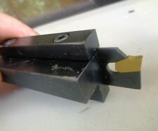 Cut Off Lathe Tool Holder Inserts block and Blade included to 12mm Center height