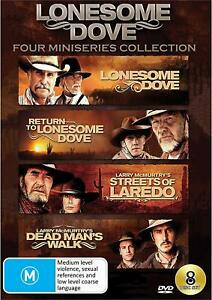 LONESOME DOVE 4 Miniseries Collection (Region 4) DVD Return to Streets of Laredo