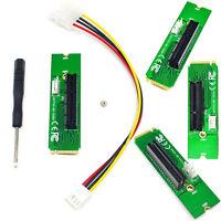 NGFF M2 to PCI-e 4x Slot Riser Card M Key M.2 Port to PCI Express Adapter /ND