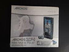 Mp3 Player Archos 104 4Gb, Grey Silver Color. Color Screen, Hard Drive, Photos,