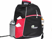 "PICKLEBALL MARKETPLACE ""Metro"" Backpack - New/Embroidered - Red"