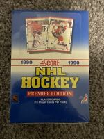 Score 1990 NHL Hockey Premier Edition Retail Box Sealed 36 Packs Eric Lindros RC