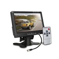 7'' inch TFT LCD Color Screen Car Rear View Camera DVD VCR For CCTV Monitor US