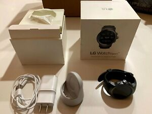 LG Watch Sport W280A Stainless Steel Silver AT&T T-Mobile Google Fi GSM