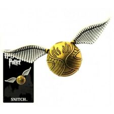 """Harry Potter Quidditch Golden Snitch Image Pewter Metal Lapel Pin 1.625"""" Across"""