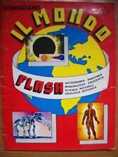 ALBUM FIGURINE CONOSCIAMO IL MONDO FLASH EDIZ. LAMPO ( B) (M15)