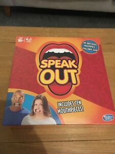 New & SEALED Popular Speak Out Game