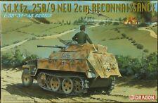 Dragon / DML 1:35 German Sd.Kfz 250/9 Neu 2cm Reconnaissance Plastic Kit #6106