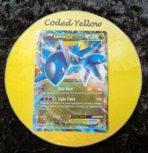 XY72 Latios EX | Pokémon XY TCG |  FULL ART Holo Black Star PROMO Card LP