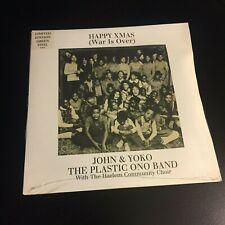 """John Lennon Happy Xmas 7"""" Limited Edition Green Vinyl 2003"""
