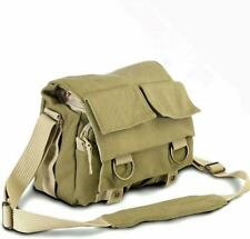 NWOT New National Geographic MIDI Shoulder Bag NG2345 Green Canvas Camera Bag