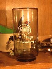 "VINTAGE 1979 BURGER CHEF NFL CINCINNATI BENGALS GLASS ""FREE SHIPPING"""