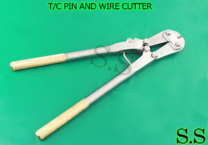 """PIN AND WIRE CUTTER 18.50"""" SURGICAL ORTHOPEDIC INSTRUMENTS"""