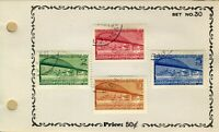 1948 Yugoslavia  Conference Sc#239-242  MLH Stamp Set  🔥