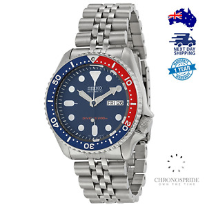 Seiko Pepsi SKX009K2 SKX009 Automatic 7S26 Mens 200M Diver Watch