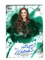 WWE Maria Kanellis 2018 Topps Undisputed Green On Card Autograph SN 29 of 50