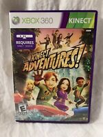 Kinect Adventures (Microsoft Xbox 360, 2010) Video Game Complete CIB TESTED