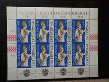 Austria Osterreich Autriche Bloc Sheet Mi 2113 - Yt 1941 Neuf New MNH ** (1993)