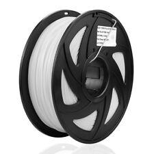 3D ABS Printer Filament 1KG Drucker-  1.75mm  Spule Trommel Rolle -Wei�Ÿ