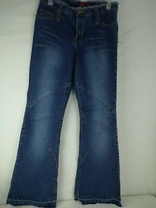 "NWT Younique Womens frayed Jeans Size 5 28""/32"" Inseam flare leg"