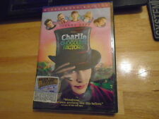 SEALED Charlie & The Chocolate Factory DVD widescreen Bates Motel JOHNNY DEPP !