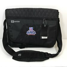OGIO Black Laptop Messenger Bag 2016 Cactus Bowl Arizona St West Virginia RS.655