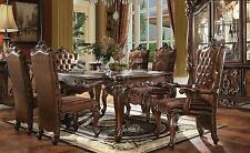 Acme   Versailles 61110 Cherry Dining Room Set 7pcs Classic Traditional