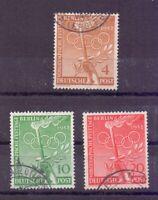 Berlin 1952 - Vor-Olympiade - MiNr. 88/90 rund gestempelt - Michel 45,00 € (870)