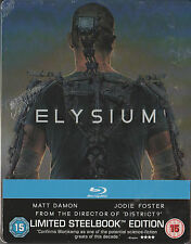 Elysium, Blu Ray Limited Steelbook, NEU & OVP