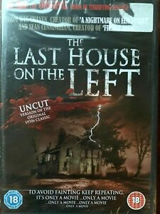 Last House on the Left DVD 1972 Horror Uncut DPP Video Nasty Classic BNIB