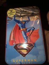 More details for superman returns movie cards 35 cards plus 2 bonus cards still sealed 2006 tin