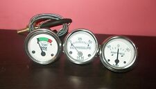 Minneapolis Moline Tractor Temperature   Oil Pressure  Ammeter Gauge  Kit