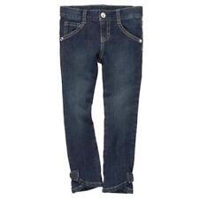 NWT~Gymboree dark wash bow straight leg jeans~9