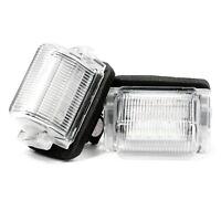 2 X LED Éclairage De Plaque Plaque D'Immatriculation Xenon Lampe