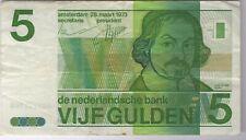 More details for 1973 netherlands 5 gulden note | bank notes | pennies2pounds