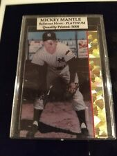 "Mickey Mantle ""special "" baseball card"