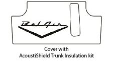 1949 1952 Chevrolet Trunk Rubber Floor Mat Cover with G-016 Belair Wing