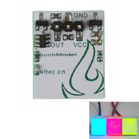 HTTM 2.7V-6V HTDS-SCR Capacitive Anti-interference Touch Switch Button Module L