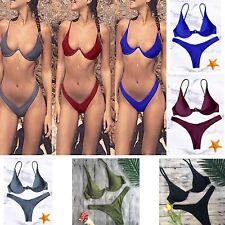 Costume da Bagno Due Pezzi Bikini Mare Donna Brasiliano Woman Swimsuit 550047 P