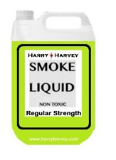 5 Litres GREEN Smoke Machine Fluid Juice Liquid Fog Mist DJ 5L Regular Medium 1