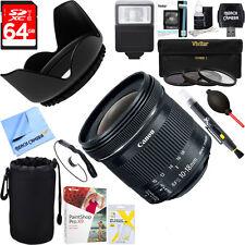 Canon EF-S 10-18mm F4.5-5.6 IS STM Lens + 64GB Ultimate Kit