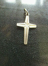 VINTAGE SILVER CRUCIFIX CROSS PENDANT MARKED WEST GERMANY STERLING