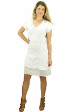 Handmade Short Sleeve Casual Dresses for Women