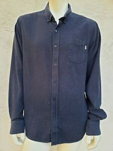 OBEY Propaganda Mens Extra Large XL Flannel Button Shirt