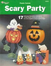 Scary Party - the Needlecraft Shop Plastic Canvas Pattern Leaflet
