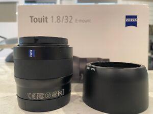 ZEISS Touit 32mm f/1.8 lens for Sony E-Mount - APS-C Format